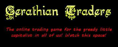 The online trading game for the greedy little capitalist in all of us! Watch this space!